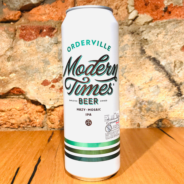 Modern Times Beer, Orderville Tall Boy, 563ml