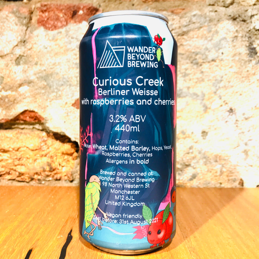 Wander Beyond Brewing, Curious Creek, 440ml