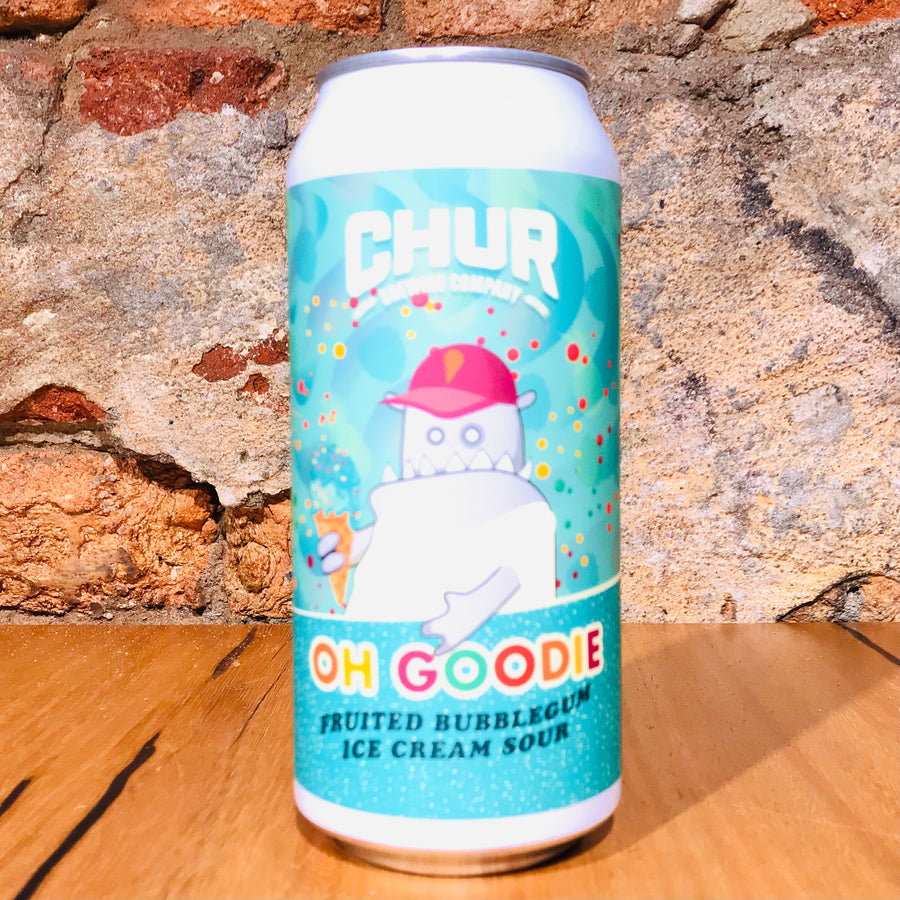Chur, Oh Goodie - Bubblegum Sour, 440ml