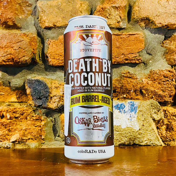 Oskar Blues, Barrel-Aged Death by Coconut, 567ml