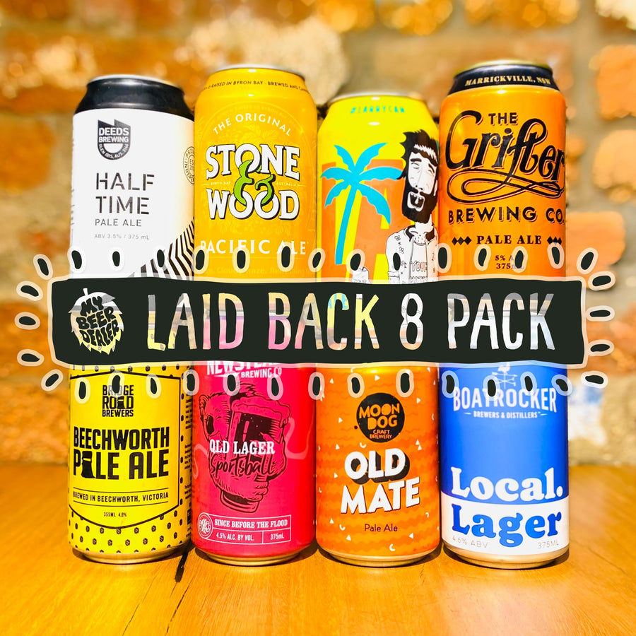 The Laid Back 8 Pack