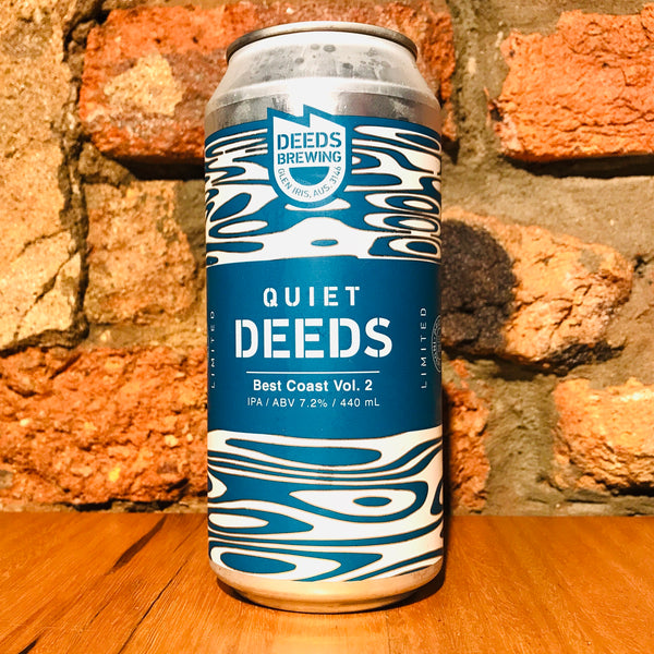 Deeds Brewing, Quiet Deeds Best Coast Vol 2, 440ml