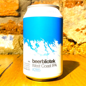 Beerbliotek, West Coast IPA, 330ml