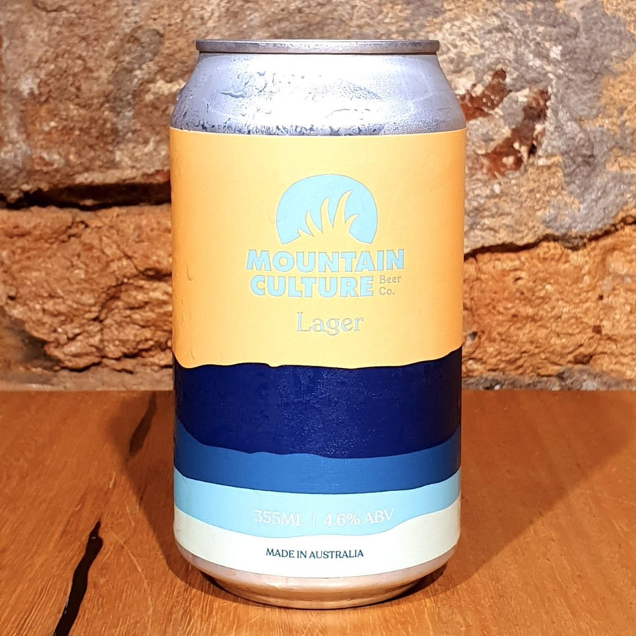 Mountain Culture, Lager, 355ml