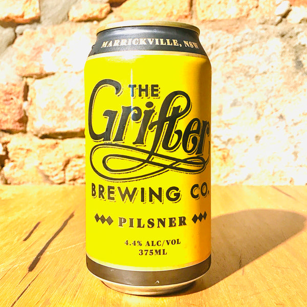 Grifter Brewing Co., Grifter Pilsner, 355ml