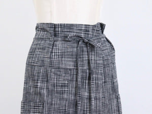 Project: Nehalem Skirt in Handwoven Checks