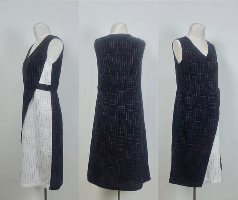 Asymmetric Dress sides and back