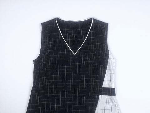 Asymmetric Dress front
