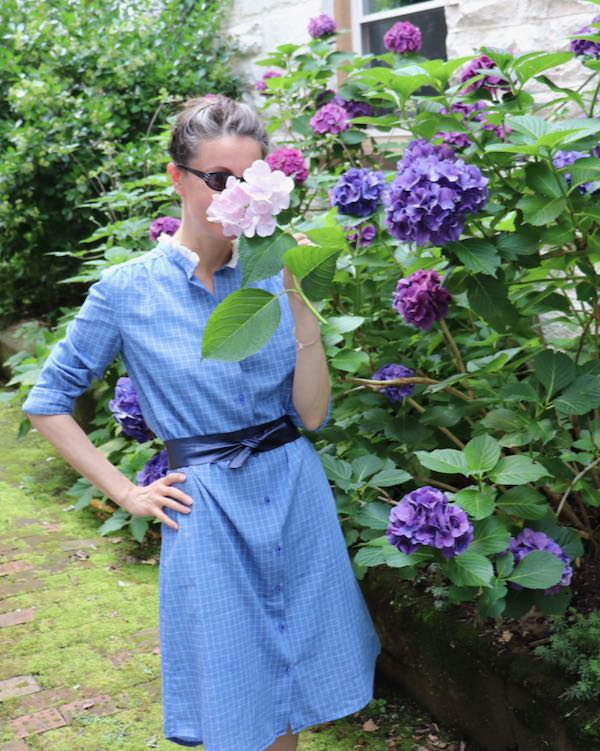 Azur Shirt Dress by Atelier Scammit at Loom and Stars