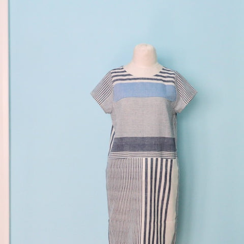 Striped Cielo Dress by Loom and Stars