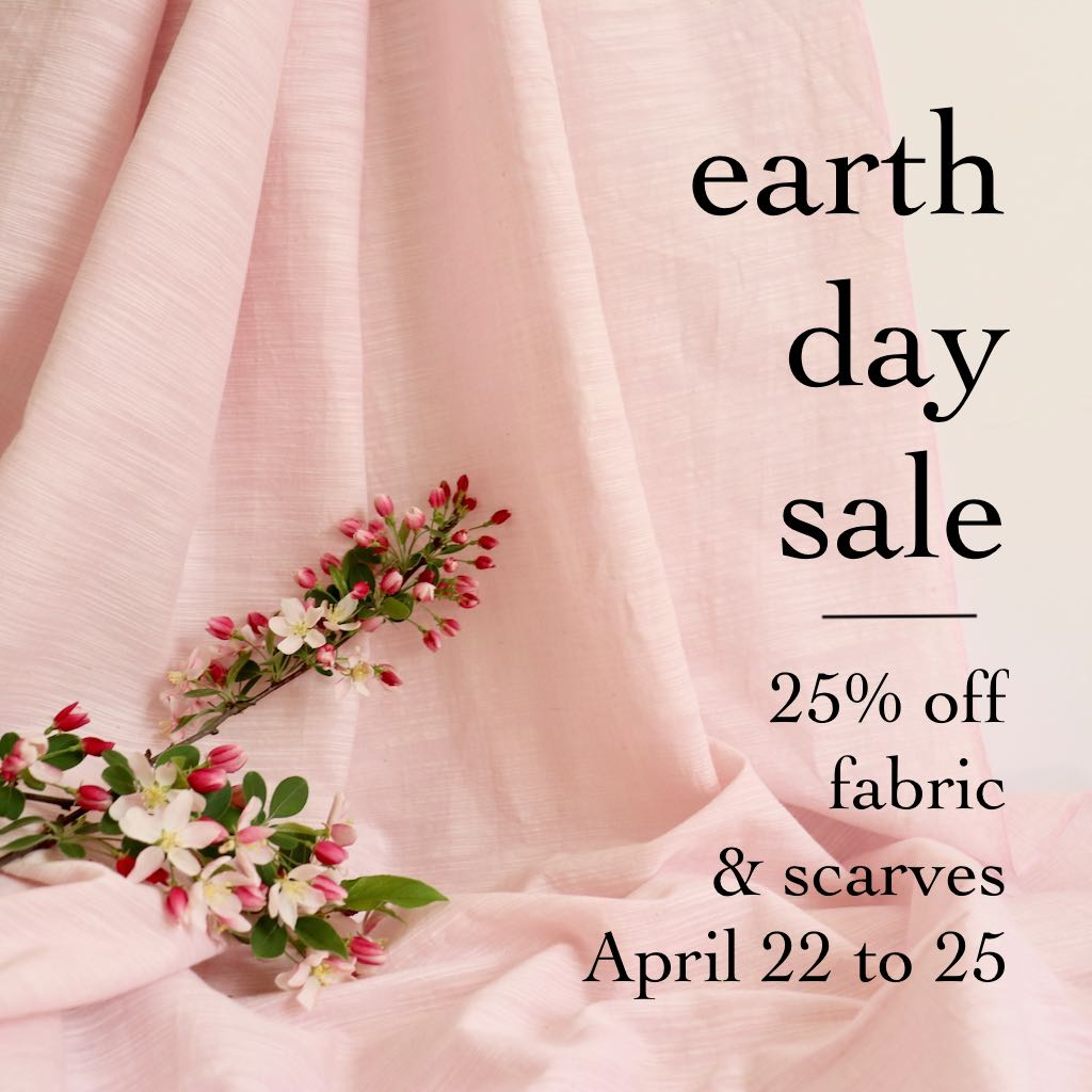 earth day fabric sale