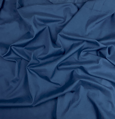 Indigo Cotton Voile