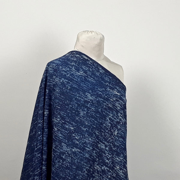 Indigo Blue Hand Block Print Fabric
