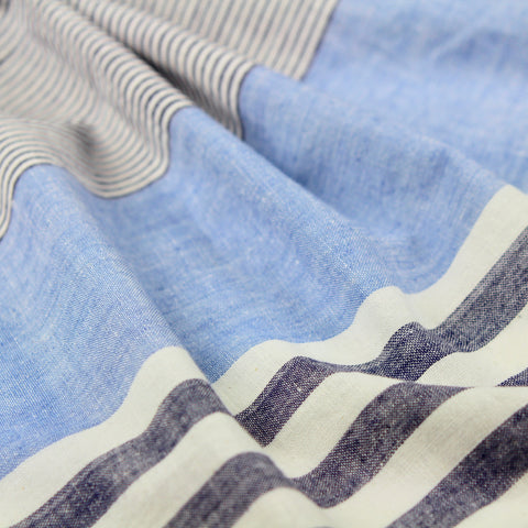 All Sorts of Stripes Handloom Cotton Fabric