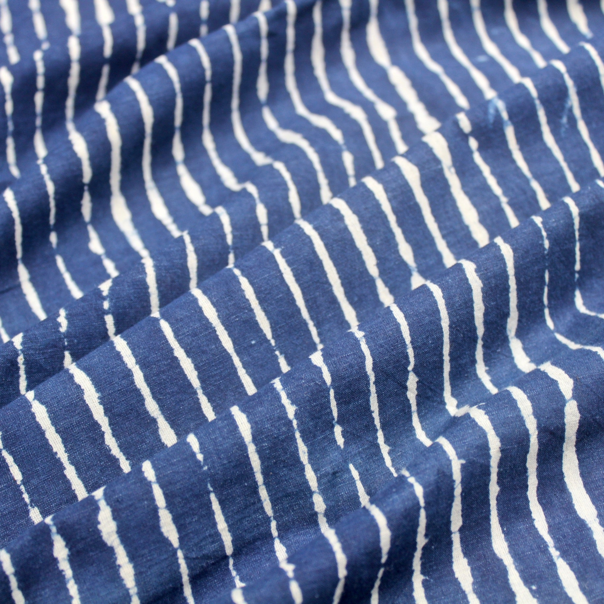 Irregular Stripe Block Print