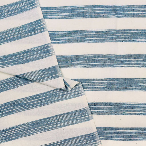 Swatch — Ocean Stripes Handloom Cotton