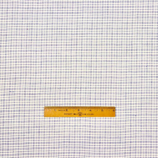 handloom checks khadi cotton sewing fabric