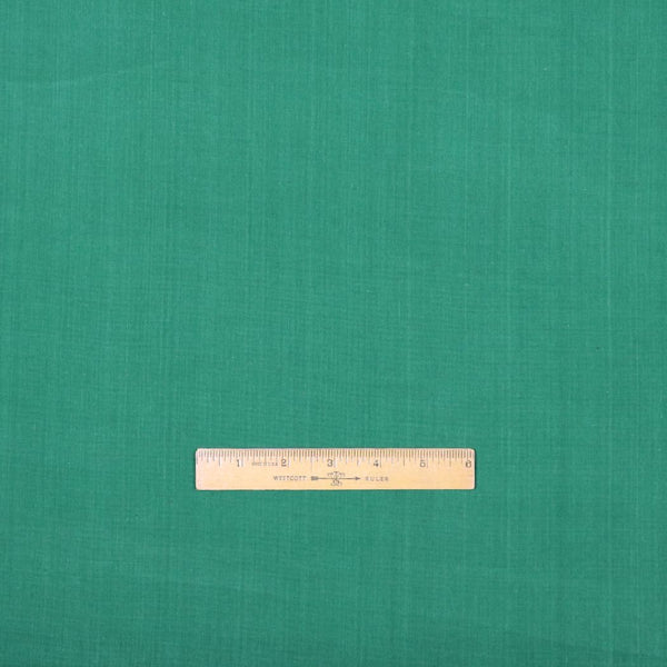 kelly green handloom cotton fabric