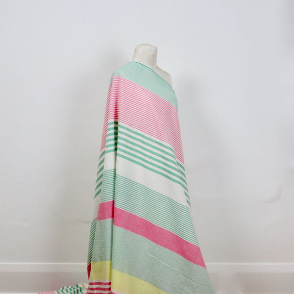 All Sorts of Stripes Handloom Cotton — Peony
