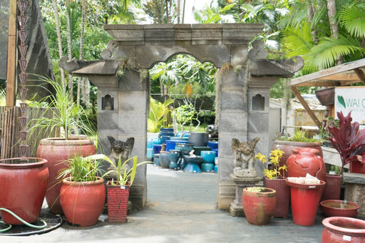 Balinese archway indonesian temple entrance pieces