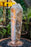 "sunrise onyx light up fountain 36"" tall lit water feature natural orange yellow crystal"