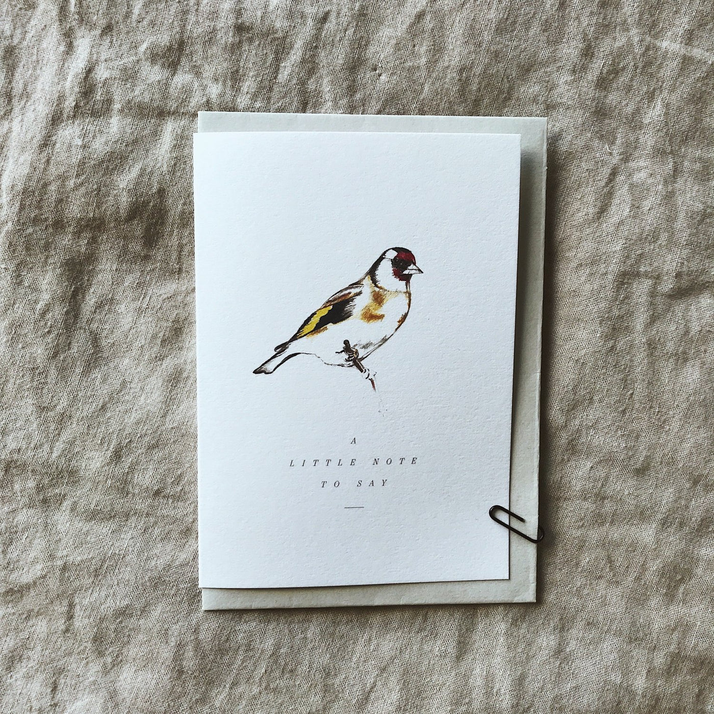 Annie Brougham Finch 'Note to Say' Card