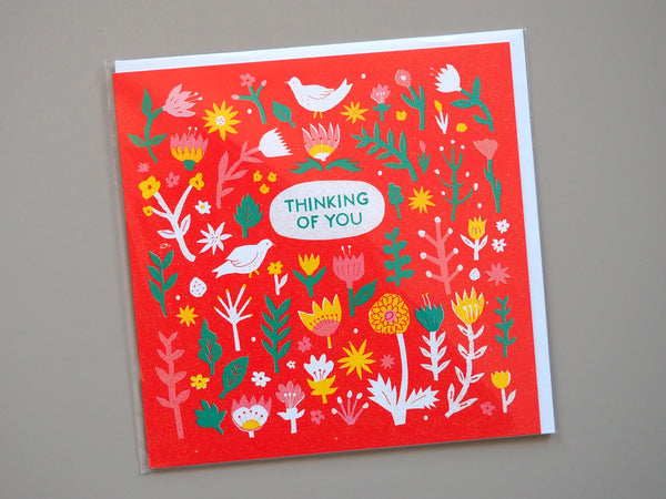 The Printed Peanut Thinking of You Card