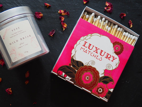 Pink Luxury Long Matches