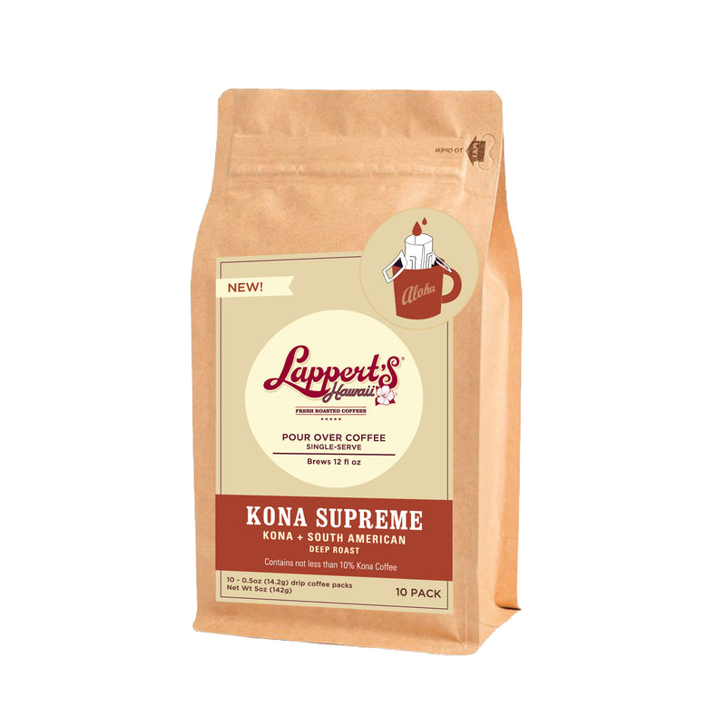 Kona Supreme - Pour Over Single Serve 10 pack