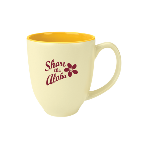 "14oz ""Share the Aloha"" Pink Mug"