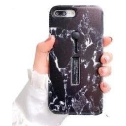 River Black Marble Iphone case - Coverio Cases