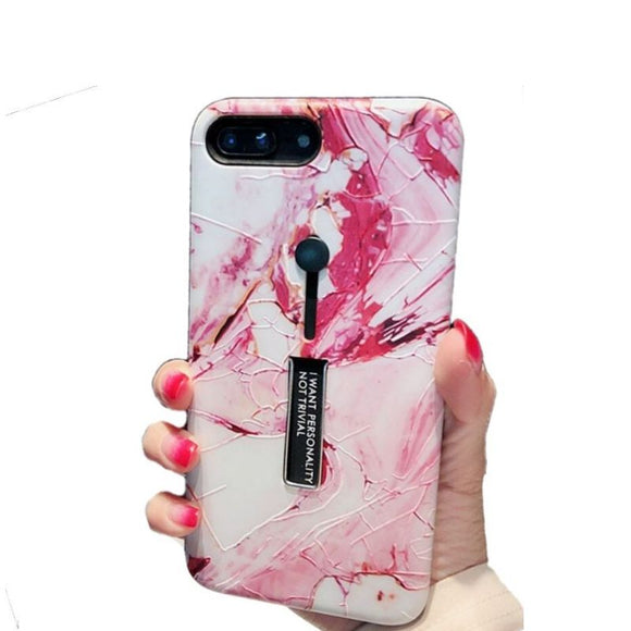 Marble Pink Swirl Case - Coverio Cases