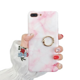 Marble Blushing Pink Case - Coverio Cases