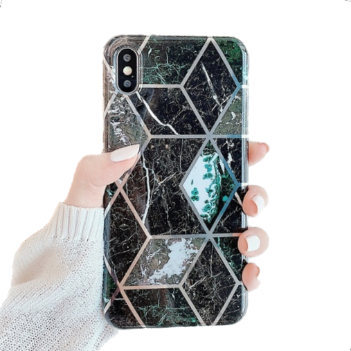 Midnight Marble iPhone Case - Coverio Cases