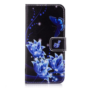 Blue Night Floral Case - Coverio Cases