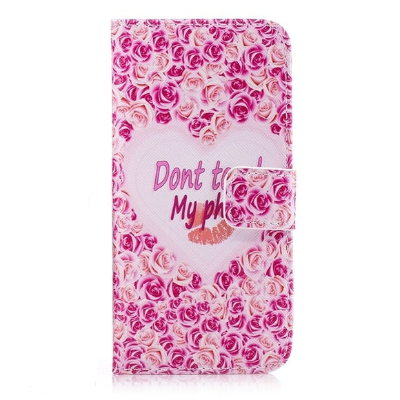 Floral Petal 'Don't Touch' - Coverio Cases