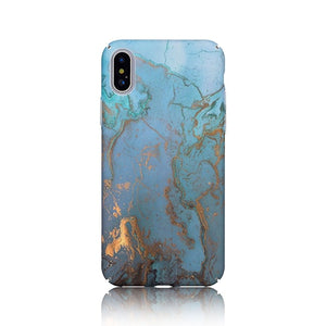 Blue Marble Gold Case - Coverio Cases