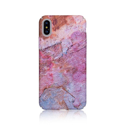Marble Rose Gold Case - Coverio Cases