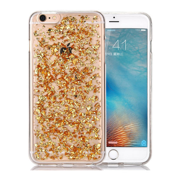 Marble Gold Glitter - Coverio Cases