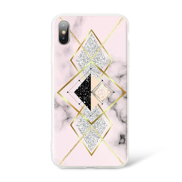 Marble Diamond Case - Coverio Cases