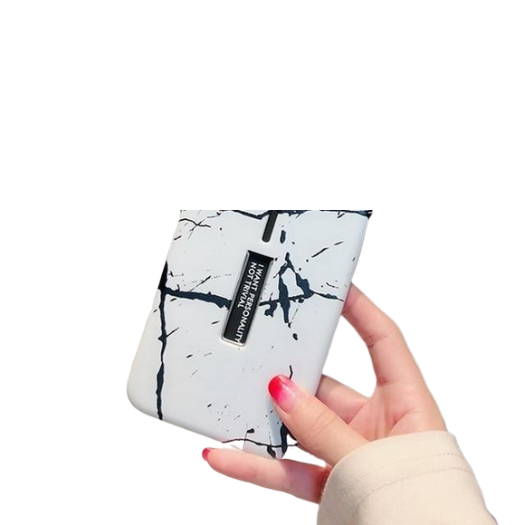 Marble White Iphone Case - Coverio Cases