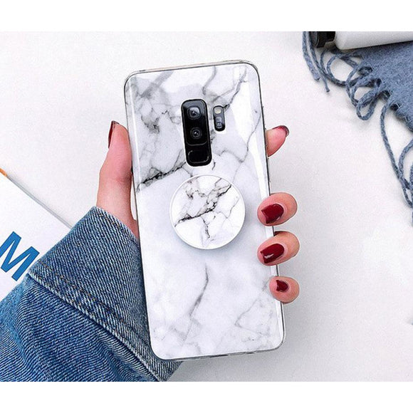 Sivec White Marble Case - Coverio Cases