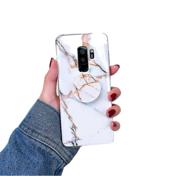 Marble Rose Gold - Coverio Cases