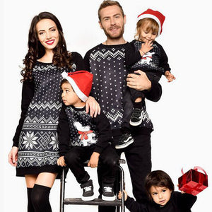 Christmas Geometric Pattern Family Outfits 73abf9e0d