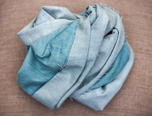 Sky Blue Denim Fabric