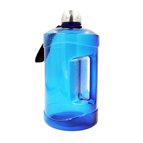 2.2 L Portable Drinking Bottle High Capacity Sports Gym Training Water Bottle