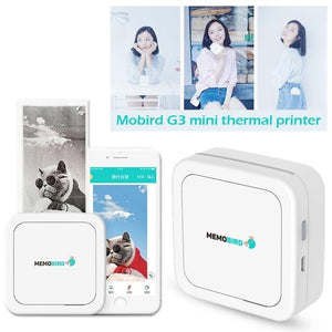 2018 G3 Mini Thermal Printer Mobile Phone Photo Pocket Colorful Portable Printer Dropship 11.11