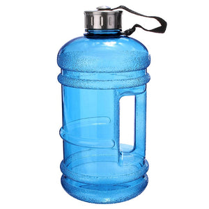 2.2L Big Large Sport Gym Training Drink Water Bottle Cap Kettle Camping