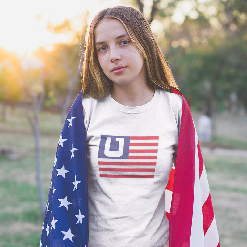 Women's American Flag Utah Edition t-shirt