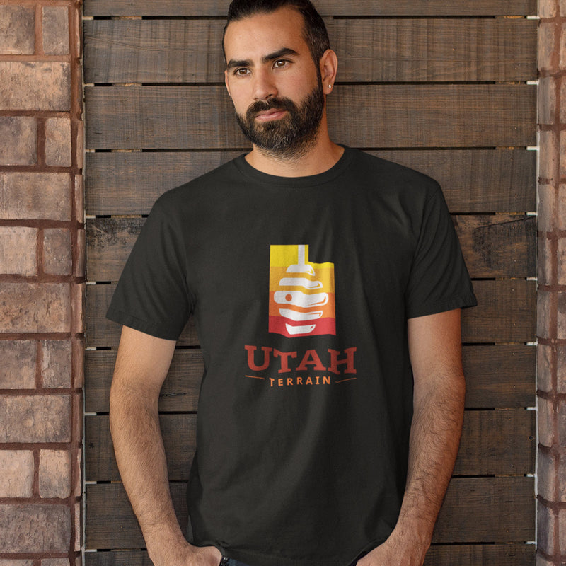Men's Utah Beehive T-shirt black